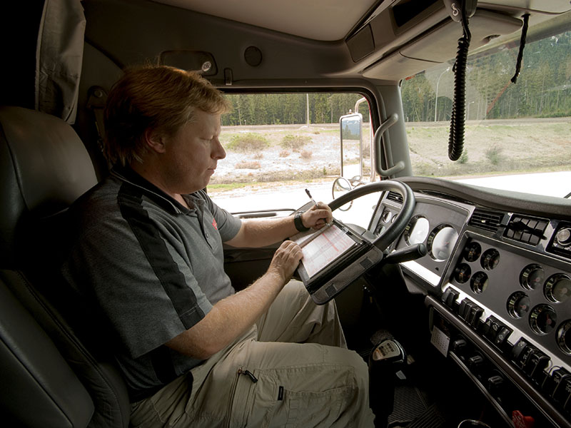 Exameninstrumenten chauffeur goederenvervoer beschikbaar